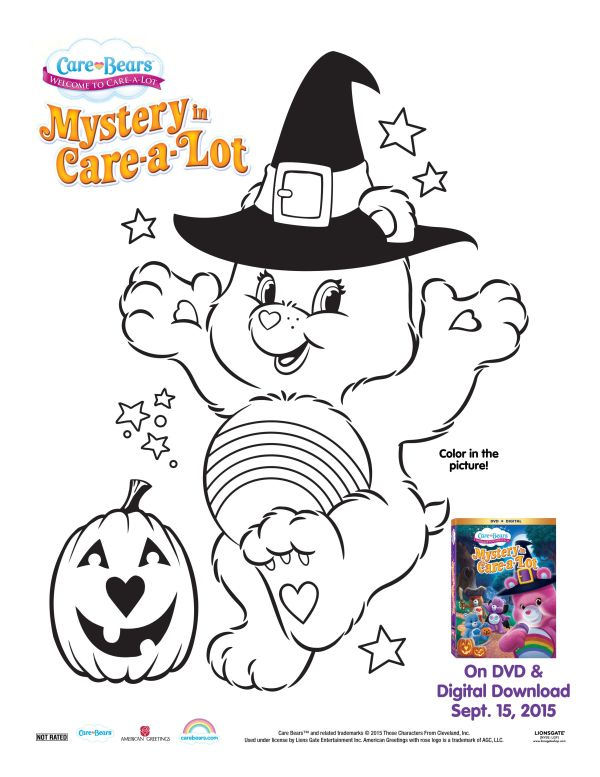 Care Bears: Mystery in Care-a-Lot Review & Halloween Giveaway!