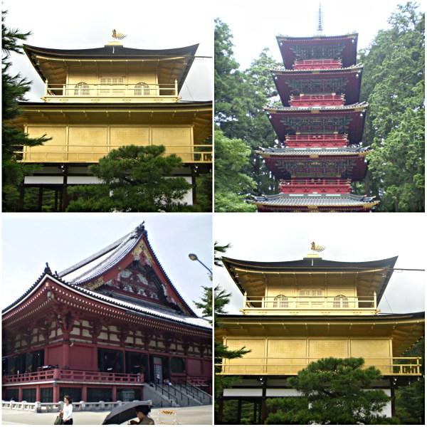 Weekly Photo Challenge: ORNATE - Ornate temple buildings in Japan