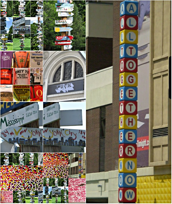 Weekly Photo Challenge: ALPHABET - They show up in art, on signs, instructions ... everywhere