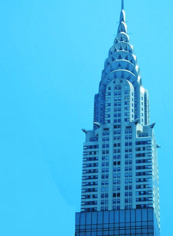 Weekly Photo Challenge: LOOK UP - at the Chrysler Building in NY