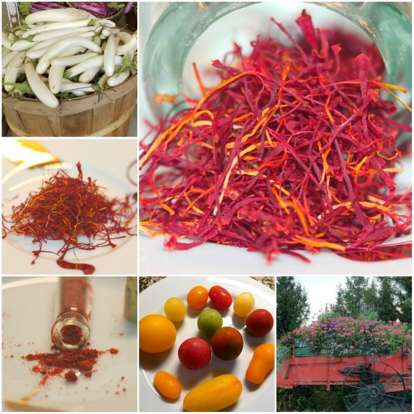 Weekly Photo Challenge: RARE - Saffron Spice, Heirloom Tomatoes, White Eggplant and more...