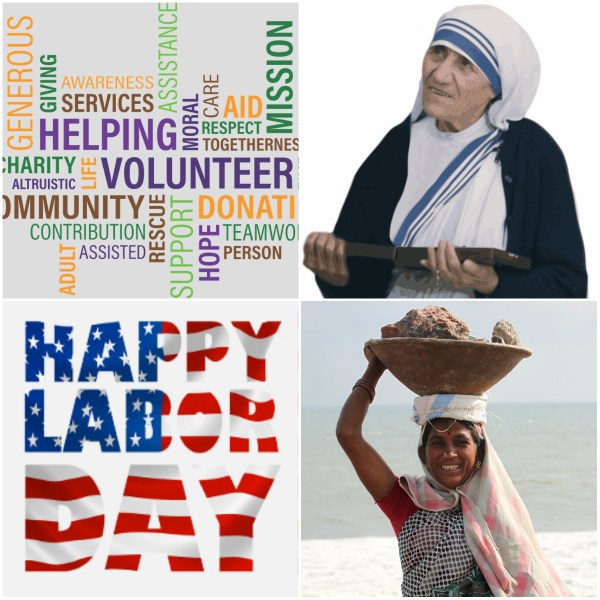 Motivation Mondays: Labor Day & International Charity Day