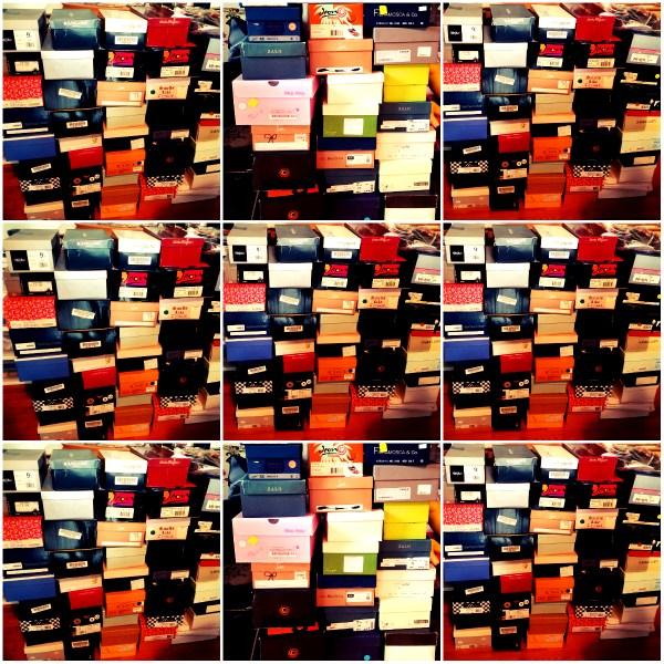Weekly Photo Challenge: Nostalgia - Shoeboxes holding memories of bygone days