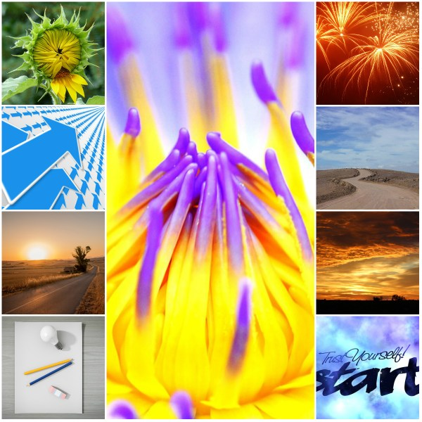 Motivation Mondays: A NEW START #2017SurvivalTips - trust yourself collage