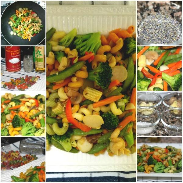 Food Files: Pasta Primavera w/ Lavender & Basil