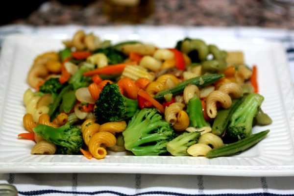 Food Files: Pasta Primavera w/ Lavender & Basil