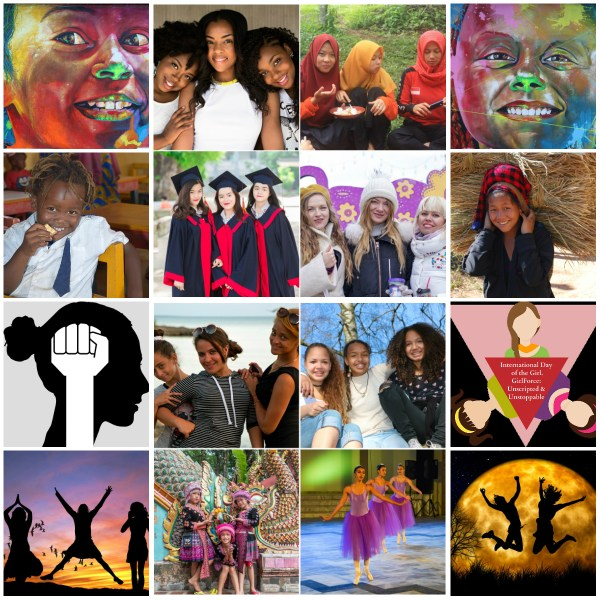 Motivation Mondays:- GirlForce: Unscripted & Unstoppable #dayofthegirl