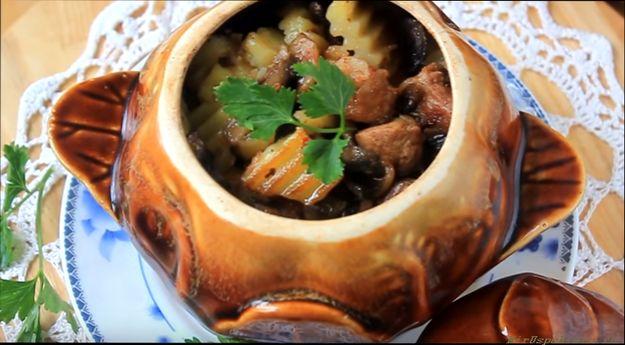 жаркое из свинины различные рецепты