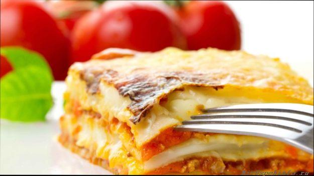 Лазанья наравне с пиццей, исконно итальянское блюдо