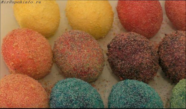 Как красиво покрасить яйца на Пасху 2018 своими руками