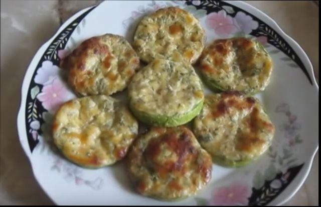 Кабачки запеченные в духовке — классический рецепт