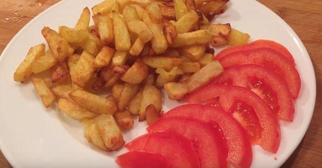 Ароматный жареный картофель - рецепт пошаговый с фото