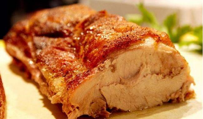что можно приготовить из духовой свинины