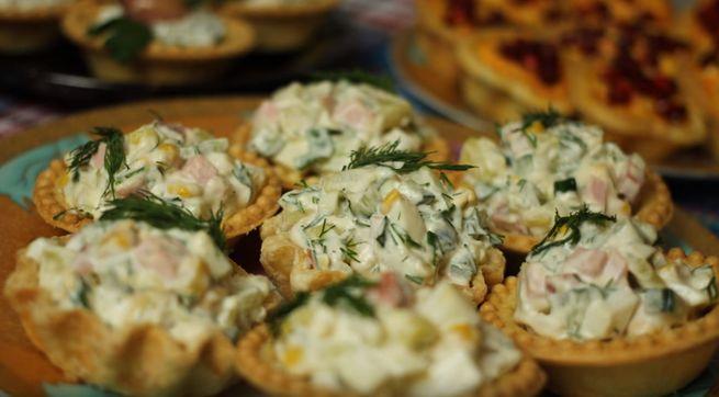 Рецепт с сырно-крабовой начинкой