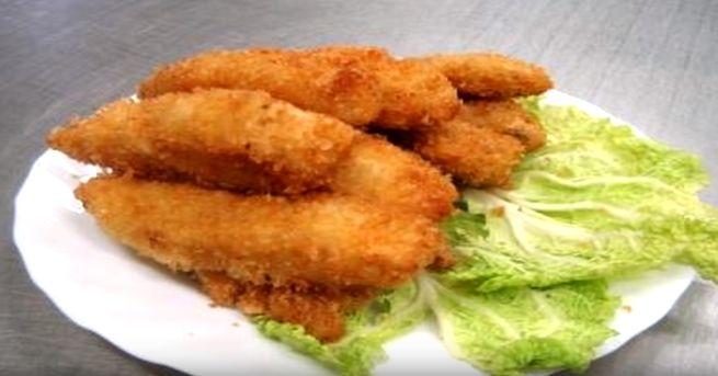 Жареная рыба во фритюре