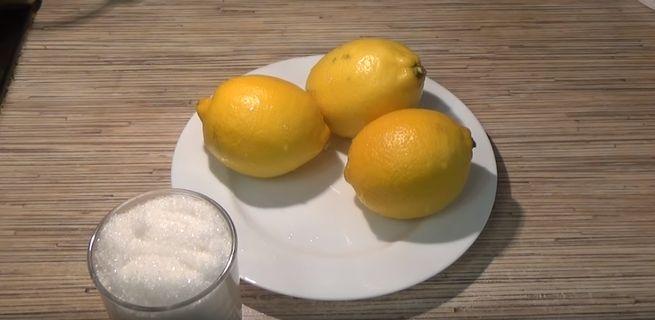 Ингредиенты для лимонада