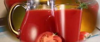 рецепты томатного сока