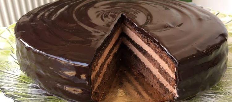 рецепт классического торта прага