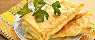 лаваш с зеленью - рецепт хорошей закуски