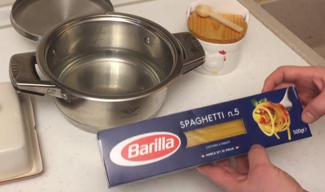 приготовить макаронные изделия
