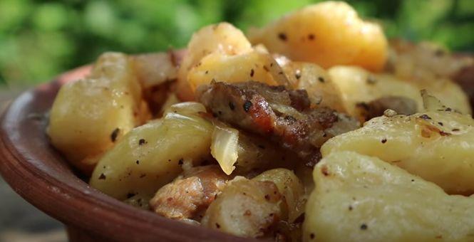 белорусские галушки с картошкой