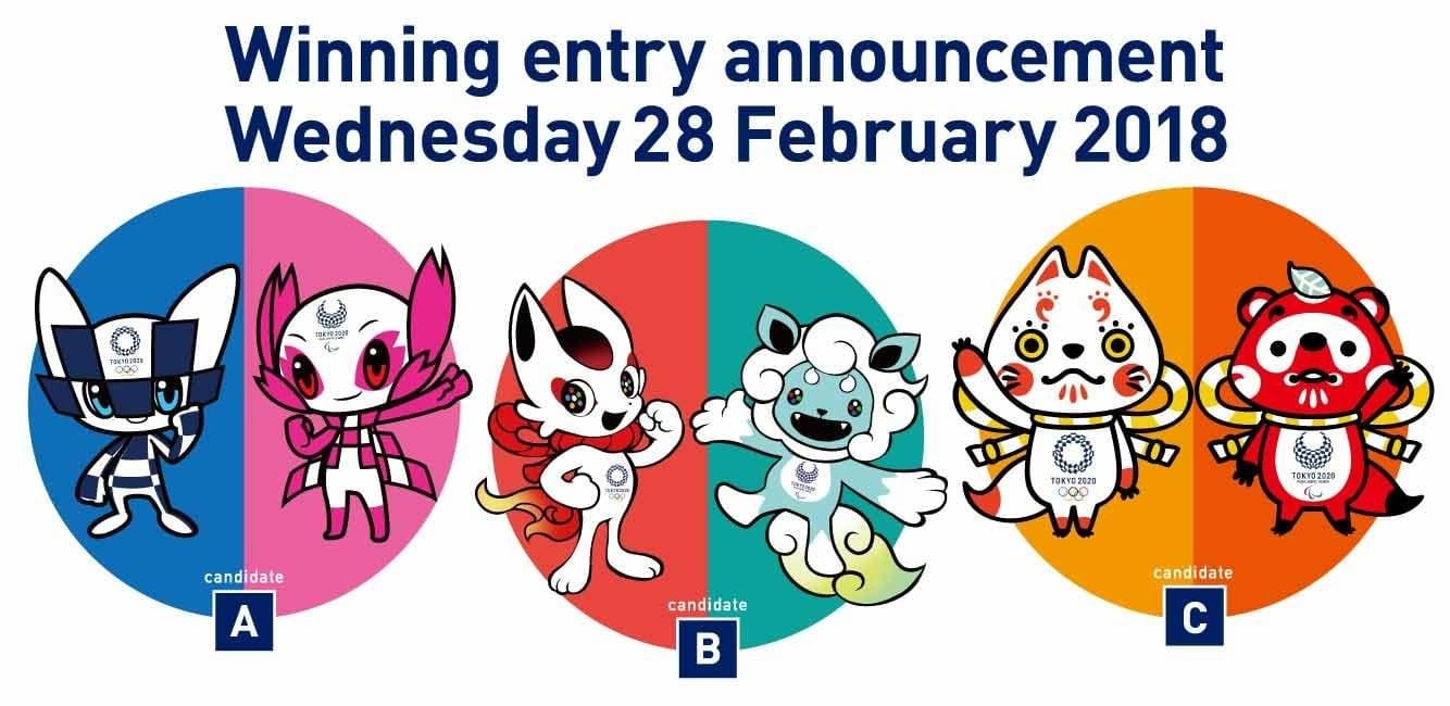 Elección Mascotas Tokio 2020