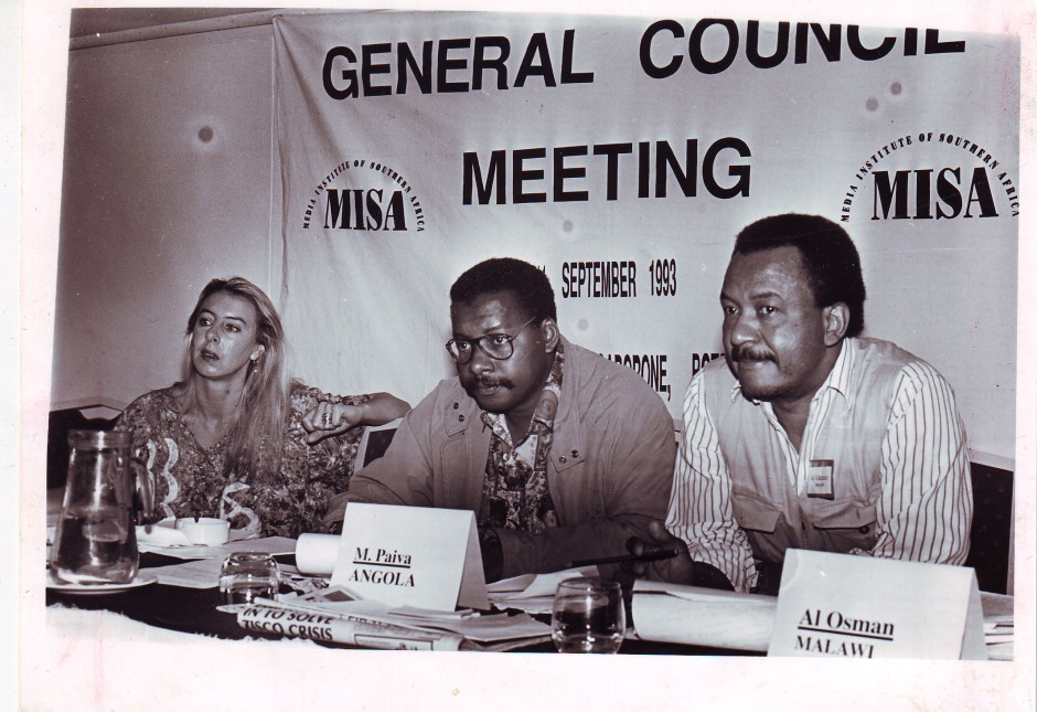 MISA GENERAL COUNCIL MEETING 1993