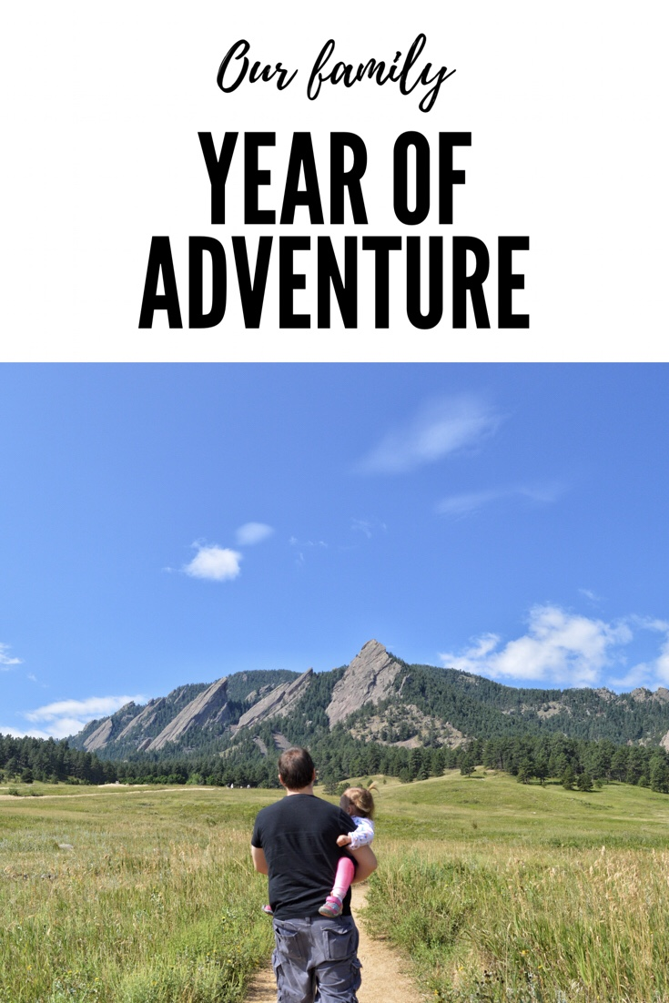 One family, One Year, 100 Adventures