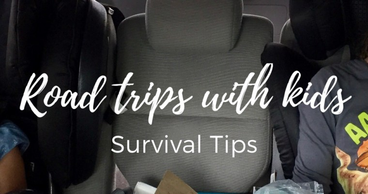 Tips and Tricks for Road Trips with Kids