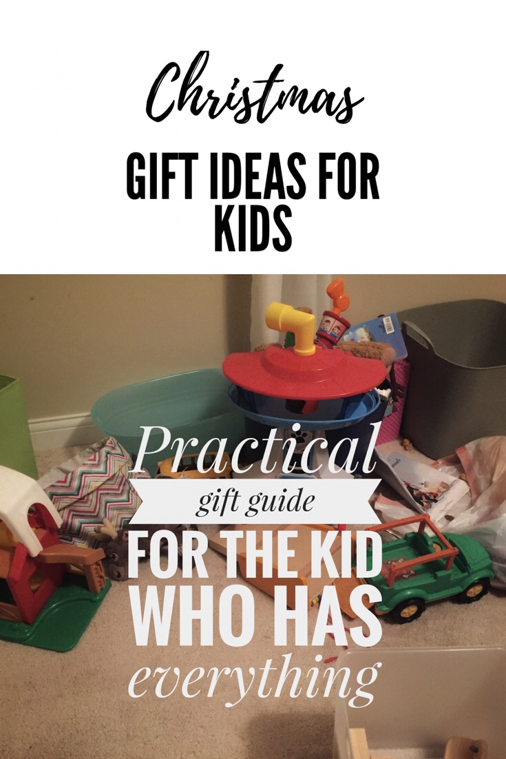 Awesome gift guide for kids who have everything!