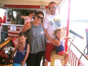 Dolphin Cruise, Topsail Island NC