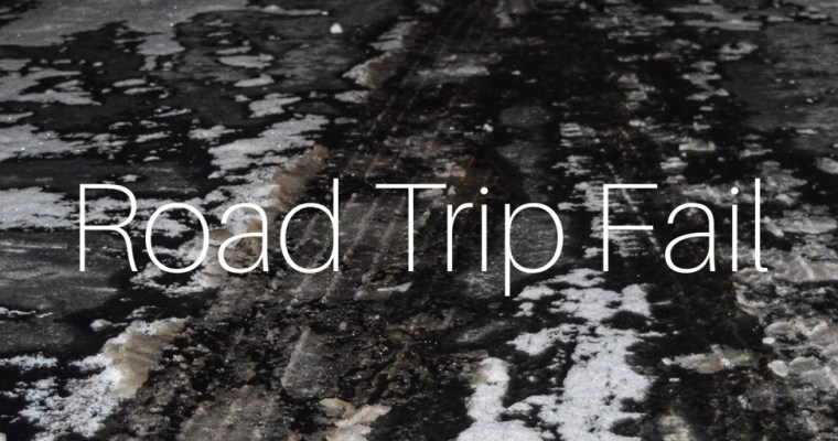 Ever experience a road trip from hell?