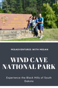 Long road trip with kids to Wind Cave National Park in the Black Hills of South Dakota