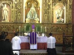 Domingo de Ramos. Forma Extraordinaria Rito Romano. Ermita de San Antonio Abad. Gran Canaria___