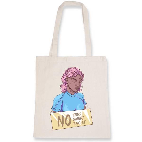 Totebag - NO terf, no swerf, no facist
