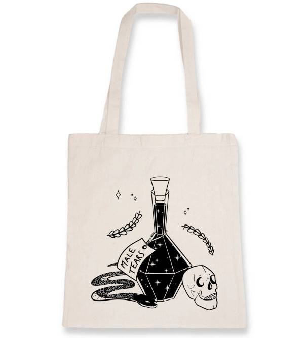 Totebag- male tears poison