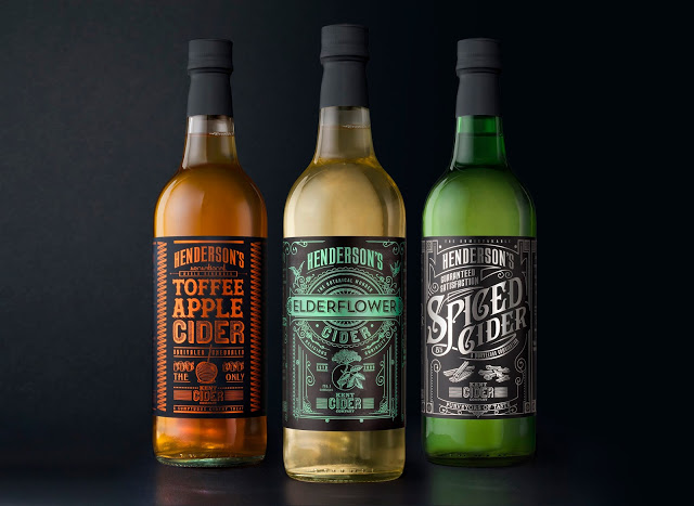 Rediseño de packaging botella Hendersons