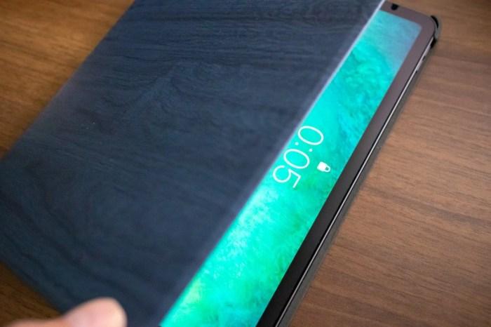 木目調がおしゃれなHBorna iPad Proケースの使用感