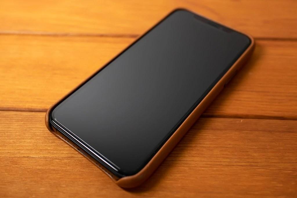 Apple純正 iPhone 11 Proレザーケースはシンプルでスタイリッシュ
