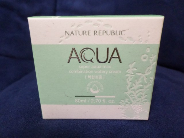Nature Republic's Super Aqua Max Combination Water Cream