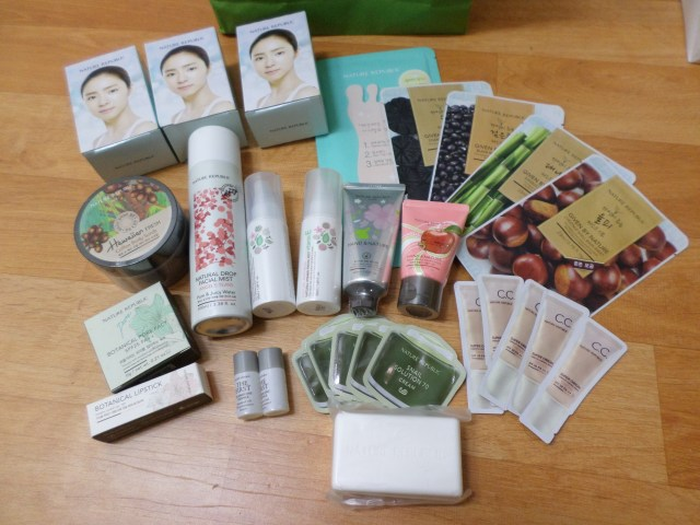 My Nature Republic haul