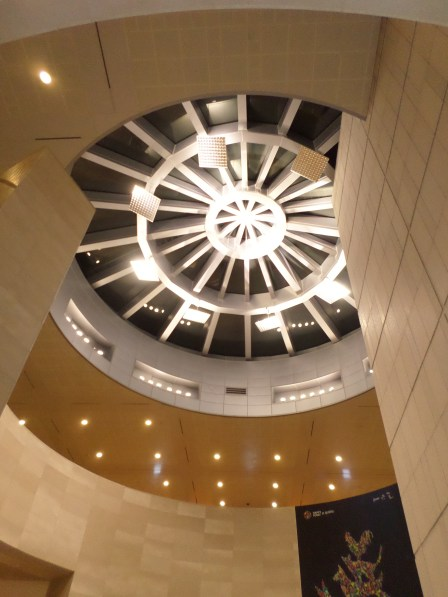 The beautiful roof of the National  Museum of Korea