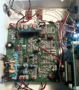 A very hacked BITX40