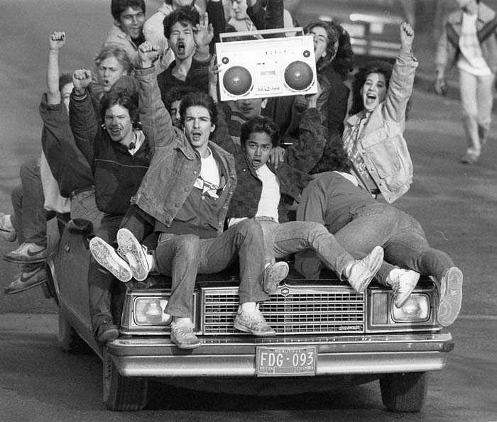 High school celebration 1970s