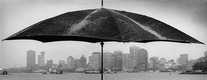 Umbrella over Vancouver