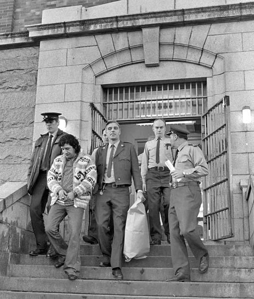 Leonard Peltier at Oakalla Prison