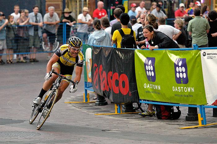 Svein Tuft tour de gastown 2008