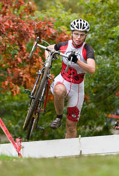 Cyclocross race at Vanier Park - BC Cup --