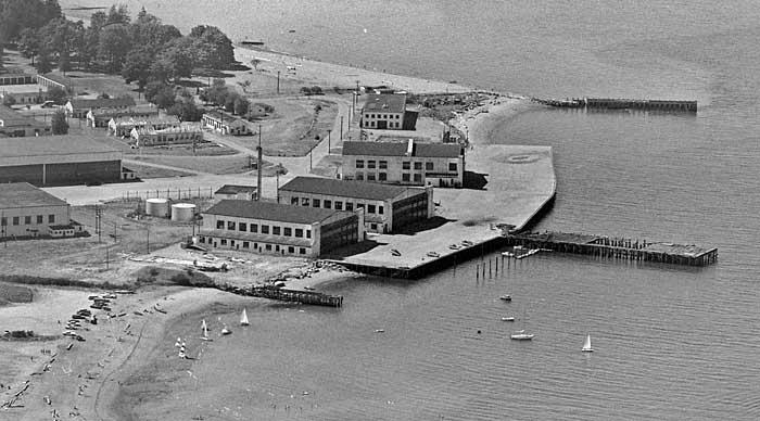 Jericho Beach seaplane base 1973