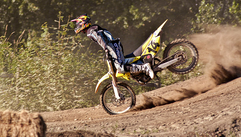 Motocross at Mission Raceway 2004